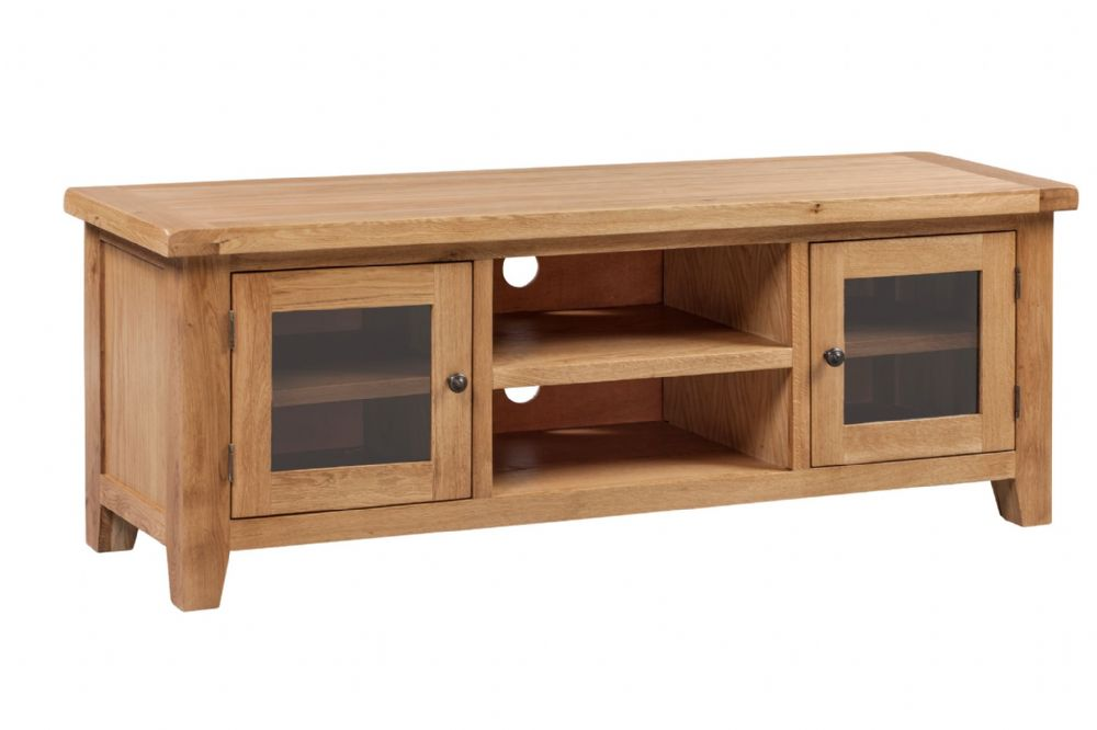 Loxley Oak Extra Large TV Stand